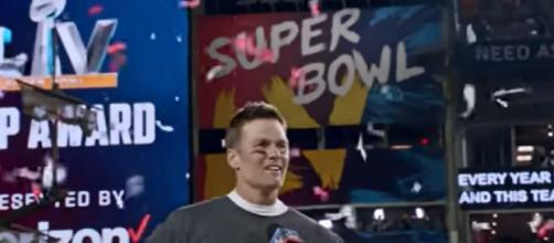 Brady led the Bucs to a Super Bowl win (Image source: Tampa Bay Buccaneers/YouTube)