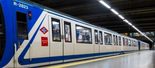 La Policía Nacional y los servicios de emergencia protegieron a los pasajeros del Metro de Madrid (Twitter, ComunidadMadrid)