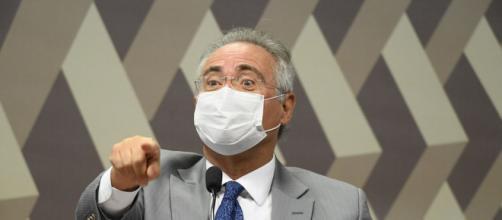 Renan Calheiros quer quebrar sigilo da rádio Jovem Pan (Jefferson Rudy/Agência Senado)