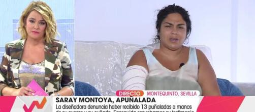 Saray Montoya ex 'Gypsy Kings' y exsuperviviente ha sido agredida gravemente (@vivalavida)