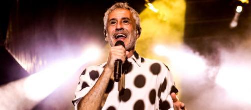 Sergio Dalma cantaba en Murcia (Twitter, nochesdelmalecon)