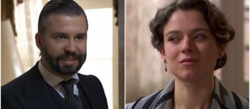Una vita, trame Spagna: Salmeron denuncia Felipe per abbandono del tetto coniugale.