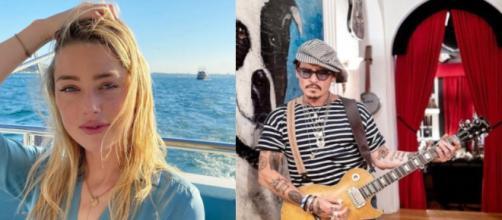 Johnny Depp y Amber Heard continúan la guerra de demandas, está vez a favor de Depp. (Instagram/ @johnnydepp y @amberheard)
