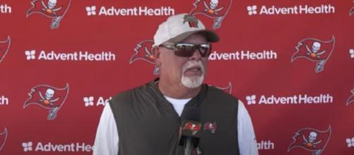 Arians lauds Brady's physical and mental preparation (Image Credit: Tampa Bay Buccaneers/YouTube)