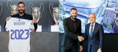 El Real Madrid vía Twitter: 'Cómo vuela el tiempo… #Benzema2023' (Twitter/@Benzema)
