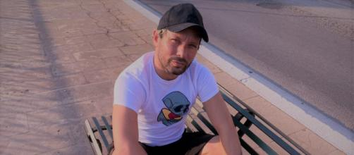 Il regista pugliese Giuseppe Sciarra.