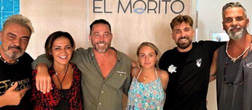 Antonio Canales y Olga Moreno siguen afianzando su amistad tras 'Supervivientes'. (Imagen: captura stories @rotrece)