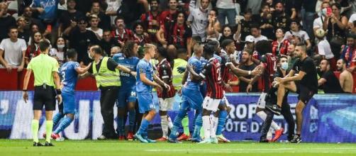 Nice - OM : Les photos des blessures des joueurs marseillais dévoilées (Source : capture Youtube)