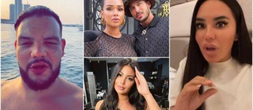 Sadek clashe violemment les influnceurs qui vivent à Dubaï avec l'argent de leurs fans, AD Laurent et Milla Jasmine lui répondent.