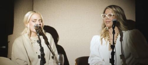Luísa Sonza e Marília gravam música juntas (Foto: Reprodução/Instagram/@luisasonza)