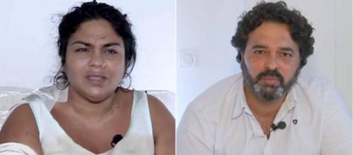 Saray Montoya y su marido, Jorge Rubio. (Telecinco)