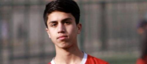 Zaki Anwari, giovane promessa del calcio morto nel tentativo di lasciare Kabul.