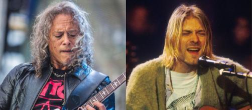 Kirk Hammett ricorda che Kurt Cobain era un grande fan dei Metallica