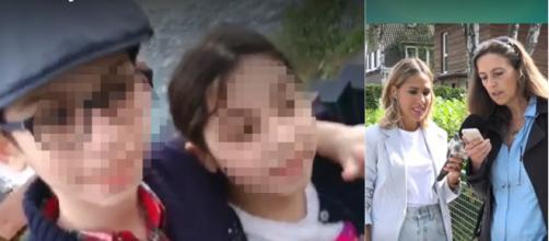 Los niños fueron encontrados en buen estado de salud y su madre se enteró en un directo televisivo. (Telecinco)