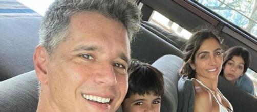 Márcio Garcia curte domingo em família (Reprodução/Instagram/@oficialmarciogarcia)
