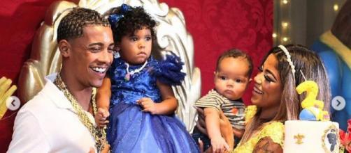 MC Poze do Rodo e Vivianne á são pais de dois filhos (Foto: Reprodução/Instagram/@mcpozedorodo)