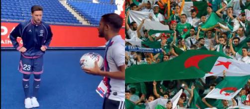 Julian Draxler prêt pour affronter encore l'Algérie. (crédit Twitter)
