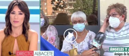 Las amigas de maría Isabel la mujer emparedada lloran su muerte (Telecinco)