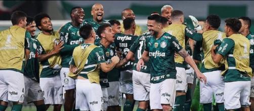 Palmeiras celebra 107 anos (Reprodução/Instagram/@palmeiras)