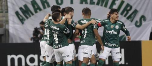Palmeiras recebe homenagens de jogadores (Arquivo Blasting News)