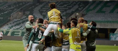 Palmeiras recebe homenagens em aniversário (Reprodução/Instagram/@palmeiras)