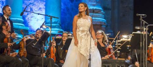 Ainhoa Arteta, en un concierto (Wikimedia Commons)