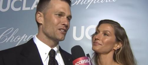 Brady and Gisele exchange sweet messages on Instagram (Image source: Access/YouTube)