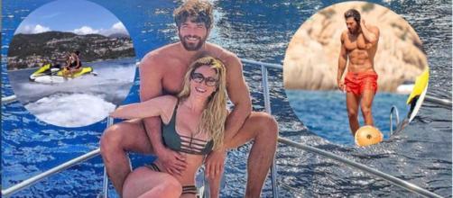 Can Yaman e Diletta separati in vacanza.