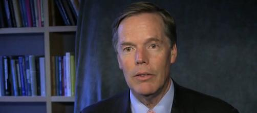 If confirmed by the Senate, Nicholas Burns will be the next U.S. ambassador to China. [Image Source: Harvard Kennedy School/YouTube]