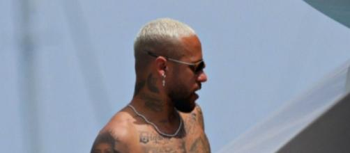 Neymar en vacances - Source : capture d'écran, Instagram