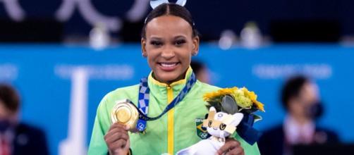 Rebeca Andrade ganha duas medalhas em Olimpíadas (Miriam Jeske/COB)