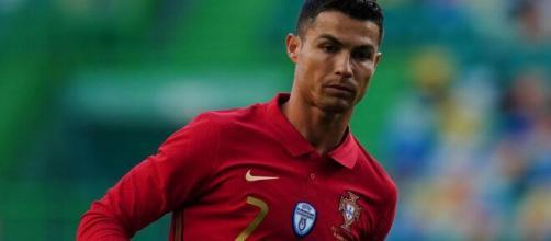 Ronaldo, attaccante della Juventus.