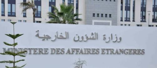 Siège du ministère des Affaires étrangères - Source : capture d'écran, réseaux sociaux