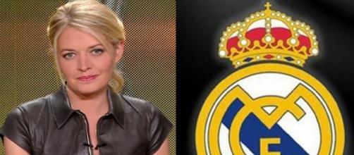 La photo énigmatique de Carine Galli à Madrid (montage photo et capture Youtube)