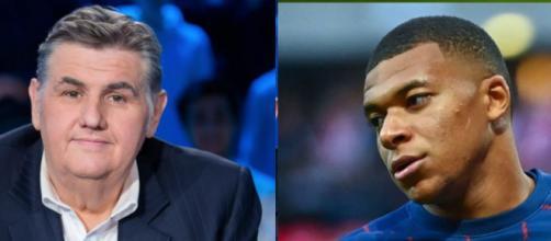 Pierre Ménès connait les raisons qui poussent le PSG à garder Mbappé. (crédit Twitter)