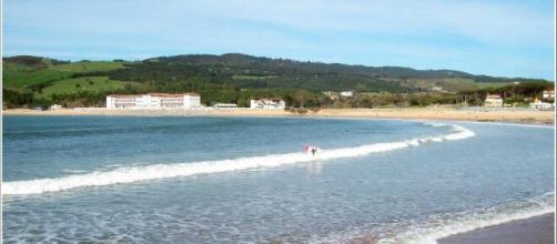 Playa de Plentzia, en imagen (Wikimedia Commons)