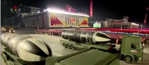 North Korea fires 'ballistic missiles' as Kim Jong-un begins terrifying weapon tests (Image source: The Sun/YouTube)
