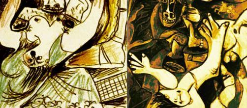 'Rapto de las Sabinas,' by Nicolas Poussin (Image source: Estudio de Arquepoética y Visualística Prospectiva)