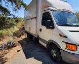 Imagen del camión en el que se encontraba el cadáver (Fuente:Captura redes)
