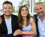 Un posto al sole, Marina Giordano (Nina Soldano), Alice Pergolesi (Fabiola Balestriere), Andrea Sannino e Fabrizio Rosato (Giorgio Borghetti).