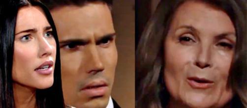 Beautiful, spoiler Usa: Steffy sconvolta dopo aver appreso che Sheila è la madre di Finn.