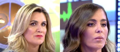 Carlota Corredera no ha dudado en contestar en seco a Anabel Pantoja por su salida de tono (Telecinco)