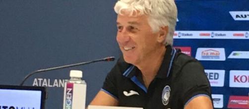 Gasperini, allenatore dell'Atalanta.