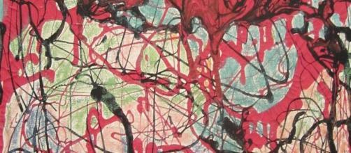 Janet Sobel, Untitled abstract (Image source: Hans Therkildsen/Flickr)