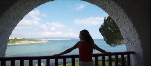 Scatto fotografico ad Alghero durante le riprese.