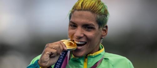 Ana Marcela se destaca na Olimpíada (Jonne Roriz/COB)