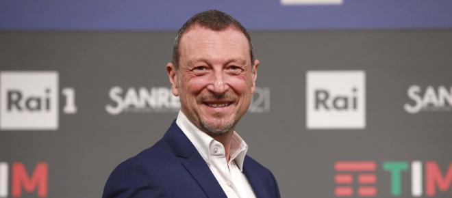 Amadeus sarà alla conduzione di Sanremo 2022