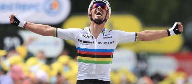 Julian Alaphilippe : Flèche Wallonne, strade bianche... 5 plus grands exploits du coureur