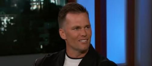 Brady remains strong at 44 (Image source: Jimmy Kimmel Live/YouTube)
