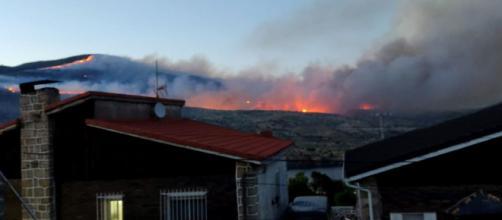 El incendio de Ávila de nivel 2 con riesgos para la población y bienes (RRSS)